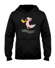 Saxolotl funny sax saxophone tshirt Hooded Sweatshirt thumbnail