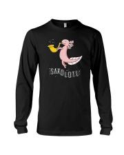 Saxolotl funny sax saxophone tshirt Long Sleeve Tee thumbnail