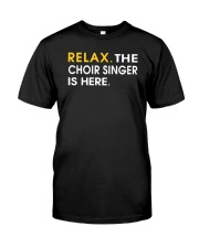 CHOIR SINGING SINGER VOCALIST - SING TSHIRT Classic T-Shirt front
