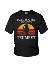 Fear the trumpet funny trumpeter tshirt Youth T-Shirt thumbnail