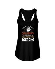 Funny I speak piano pianist tshirt Ladies Flowy Tank thumbnail