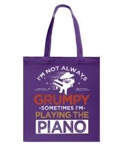 Funny I speak piano pianist tshirt Tote Bag thumbnail