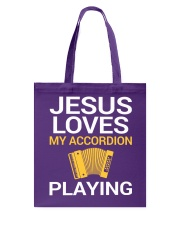 FUNNY DESIGN FOR ACCORDION PLAYERS Tote Bag thumbnail