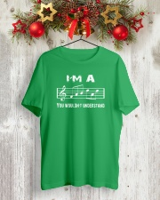 I'M A FAB FABULOUS DAD TREBLE CLEF - FATHER'S DAY Classic T-Shirt lifestyle-holiday-crewneck-front-2