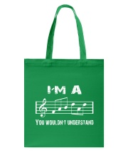 I'M A FAB FABULOUS DAD TREBLE CLEF - FATHER'S DAY Tote Bag thumbnail