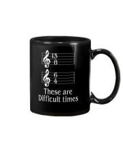 These Are Difficult Times Funny Music Musician Mug thumbnail