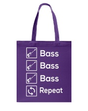 FUNNY BASS GUITAR TSHIRT FOR BASSIST Tote Bag tile