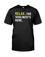 AWESOME DESIGN FOR VIOLIN PLAYERS Classic T-Shirt front