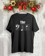 THE BOY FRIEND BF BASS CLEF VERSION VALENTINE Classic T-Shirt lifestyle-holiday-crewneck-front-2