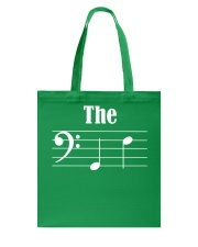 THE BOY FRIEND BF BASS CLEF VERSION VALENTINE Tote Bag thumbnail