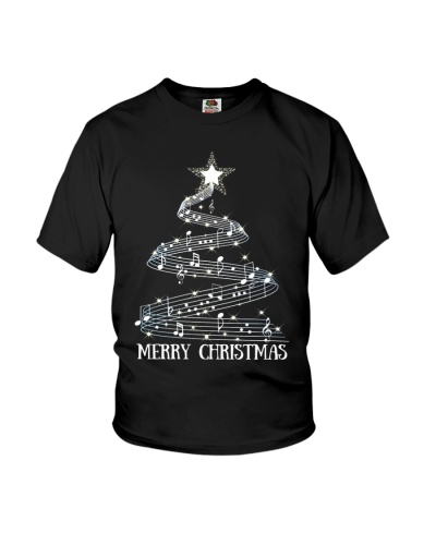 Christmas Tree Music Notes Musician