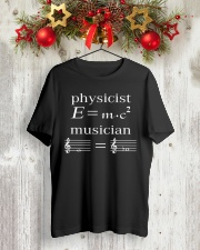 Physicist E mc2 Musician Tshirt Classic T-Shirt lifestyle-holiday-crewneck-front-2