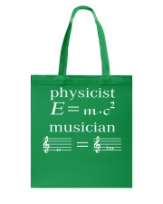 Physicist E mc2 Musician Tshirt Tote Bag thumbnail