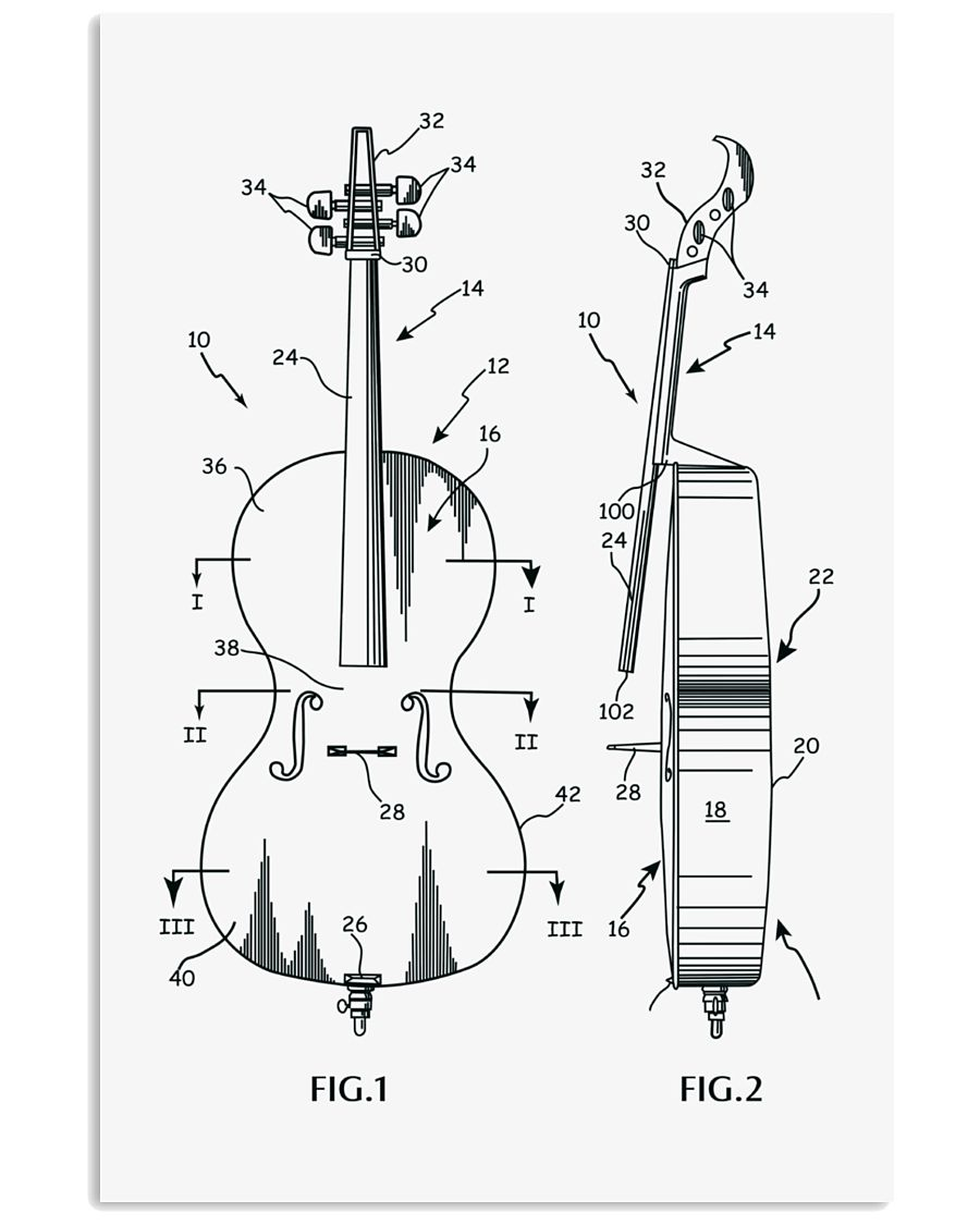 MUST HAVE FOR CELLISTS 11x17 Poster