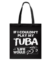 TUBA TSHIRT FOR TUBIST TUBAIST Tote Bag thumbnail