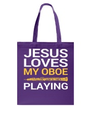 FUNNY DESIGN FOR OBOE PLAYERS Tote Bag thumbnail