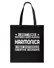 FUNNY DESIGN FOR HARMONICA PLAYERS Tote Bag thumbnail