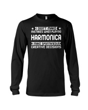 FUNNY DESIGN FOR HARMONICA PLAYERS Long Sleeve Tee thumbnail