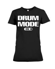 FUNNY DRUM DRUMS TSHIRT FOR DRUMMER Premium Fit Ladies Tee thumbnail