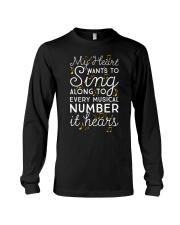 CHOIR SINGING SINGER VOCALIST - SING TSHIRT Long Sleeve Tee thumbnail