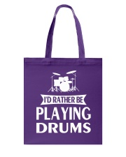 FUNNY DRUM DRUMS TSHIRT FOR DRUMMER Tote Bag thumbnail