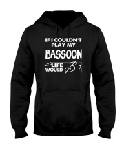 FUNNY  DESIGN FOR BASSOON PLAYERS Hooded Sweatshirt thumbnail