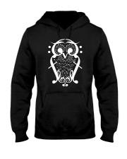 TSHIRT FOR MUSICIAN MUSIC TEACHER - OWL BIRD NOTE Hooded Sweatshirt thumbnail
