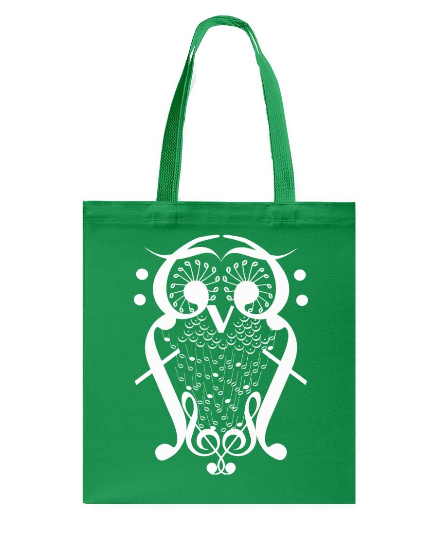 TSHIRT FOR MUSICIAN MUSIC TEACHER - OWL BIRD NOTE Tote Bag