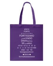 Piano Forte Pianissimo Funny Music Theory Musician Tote Bag thumbnail