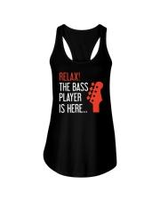 FUNNY BASS GUITAR TSHIRT FOR BASSIST Ladies Flowy Tank thumbnail