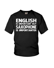 FUNNY SAX TSHIRT FOR SAXOPHONE PLAYER Youth T-Shirt thumbnail