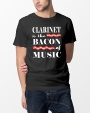 AWESOME DESIGN FOR CLARINET PLAYERS Classic T-Shirt lifestyle-mens-crewneck-front-14