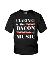 AWESOME DESIGN FOR CLARINET PLAYERS Youth T-Shirt thumbnail
