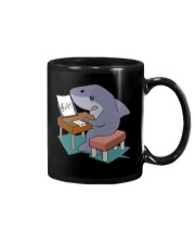 Funny Shark Music Note Tshirt Mug tile
