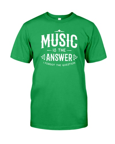 Music is the answer I forgot the question
