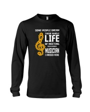 MOTHER'S DAY - MOM TSHIRT FOR MUSIC MUSICIAN Long Sleeve Tee thumbnail