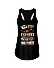 TRUMPET TSHIRT FOR TRUMPETER Ladies Flowy Tank thumbnail