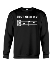 JUST NEED MY BED - ALTO CLEF TSHIRT Crewneck Sweatshirt thumbnail