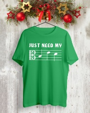 JUST NEED MY BED - ALTO CLEF TSHIRT Classic T-Shirt lifestyle-holiday-crewneck-front-2