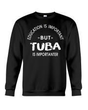 TUBA TSHIRT FOR TUBIST TUBAIST Crewneck Sweatshirt thumbnail