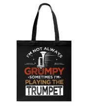 Fear the trumpet funny trumpeter tshirt Tote Bag thumbnail