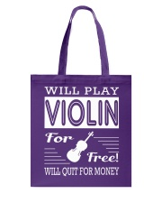 FUNNY  DESIGN FOR VIOLIN PLAYERS Tote Bag thumbnail