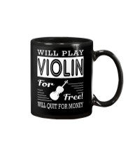 FUNNY  DESIGN FOR VIOLIN PLAYERS Mug thumbnail