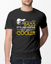 FUNNY BASS GUITAR TSHIRT FOR BASSIST Classic T-Shirt lifestyle-mens-crewneck-front-13