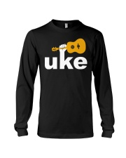 FUNNY DESIGN FOR UKULELE LOVERS Long Sleeve Tee thumbnail