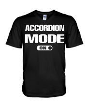 FUNNY DESIGN FOR ACCORDION PLAYERS V-Neck T-Shirt thumbnail