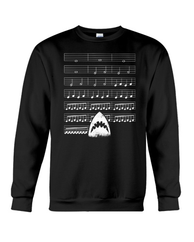 FUNNY SHARK MUSIC NOTE SHIRT