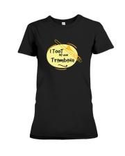 TROMBONE TSHIRT FOR TROMBONIST Premium Fit Ladies Tee thumbnail