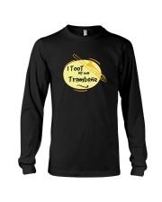 TROMBONE TSHIRT FOR TROMBONIST Long Sleeve Tee thumbnail