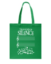 The Sound Of Silence Music Musician Tote Bag thumbnail